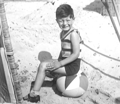 Rudi Leavor as a boy on holiday in Germany, about 1936. (c) HSFA