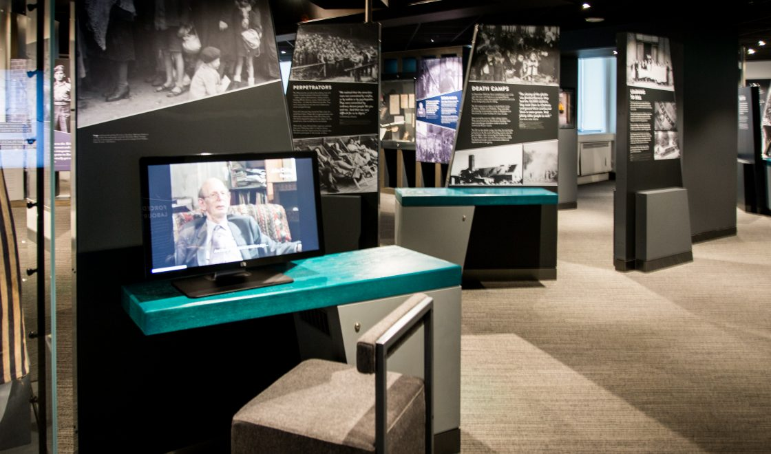 Shot of the Holocaust exhibition