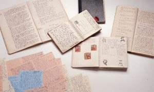 holocaust letters and diary