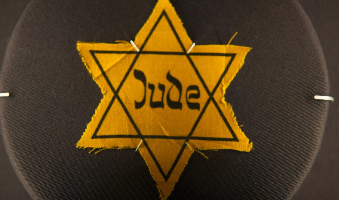 Photograph of a yellow star